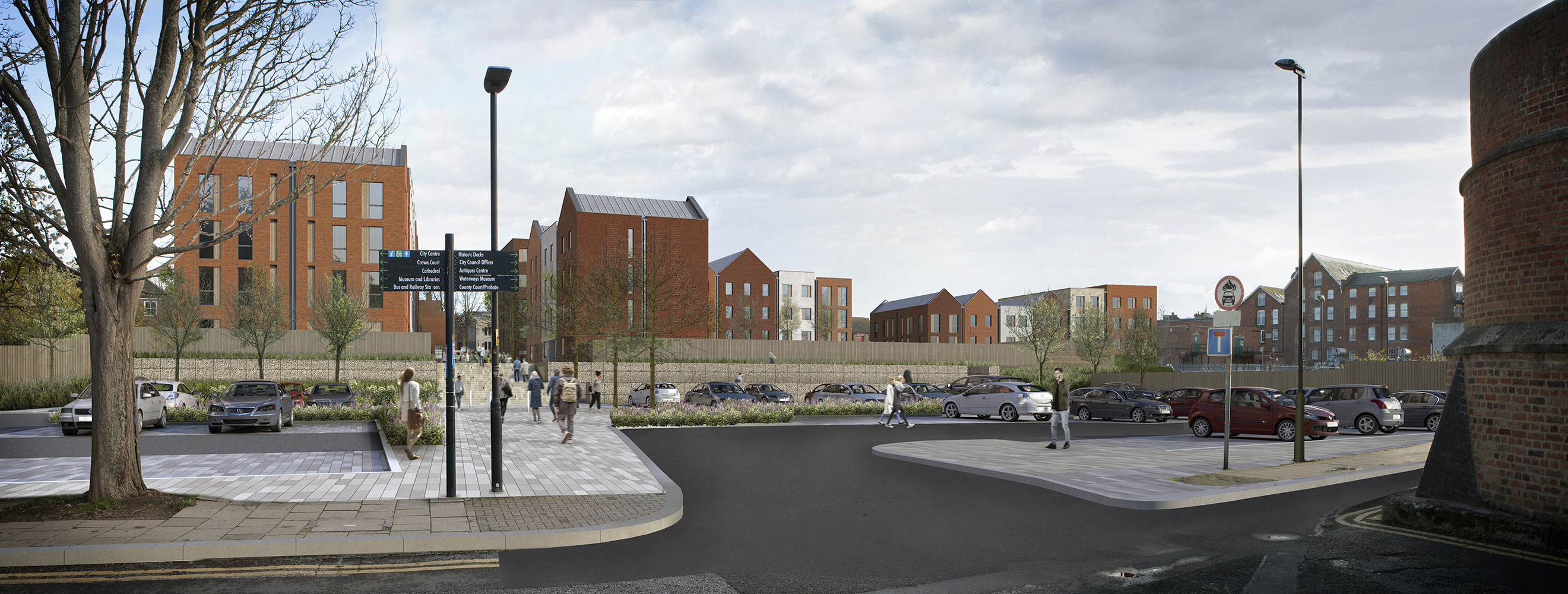 University of Gloucestershire Proposed Student Accommodation & Car Park