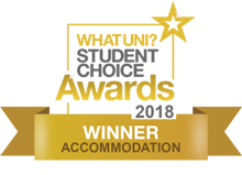 WUSCA Gold Award 2018 for Accommodation for Bangor University - Cityheart
