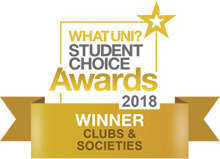 WUSCA Gold Award 2018 for Clubs & Societies for Bangor University - Cityheart